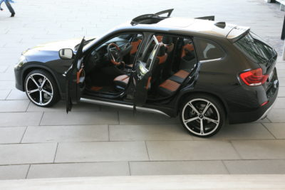 BMW X1 von Patrick Owomoyela