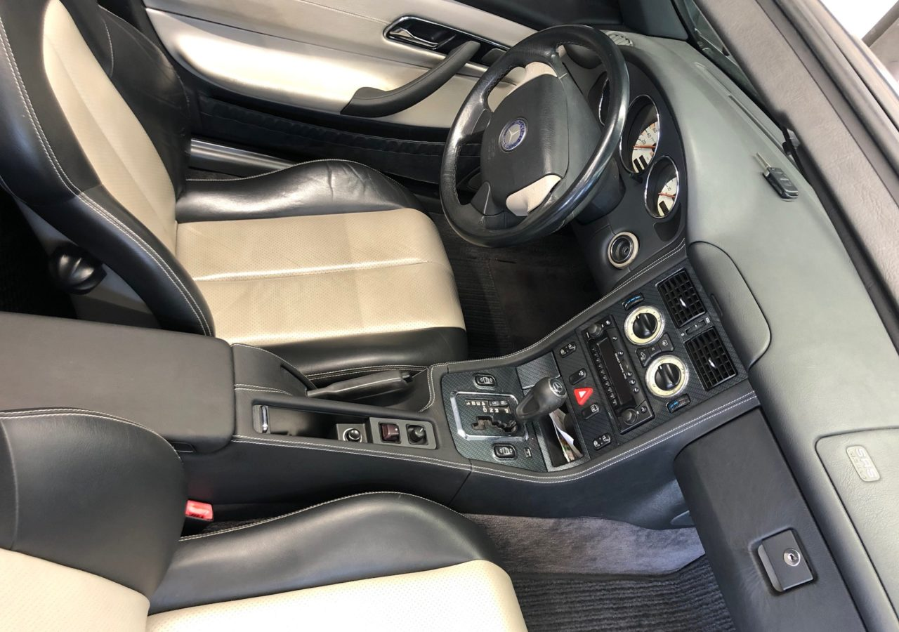 Mercedes Benz SLK R170 Mittelkonsole