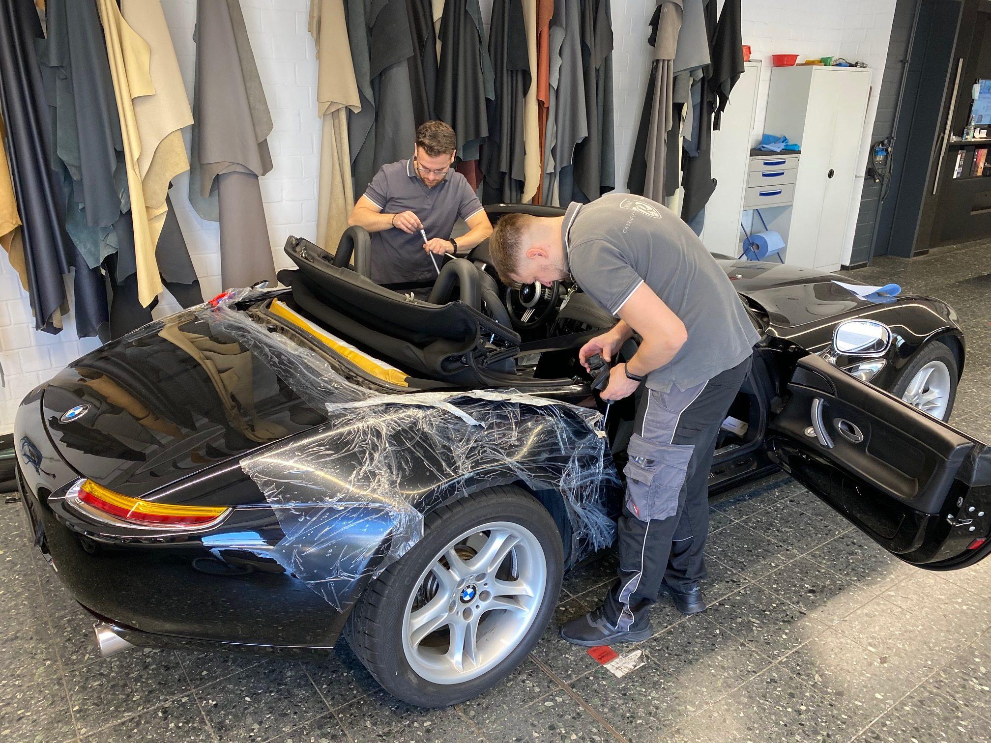 BMW Z8 Cabrioverdeck