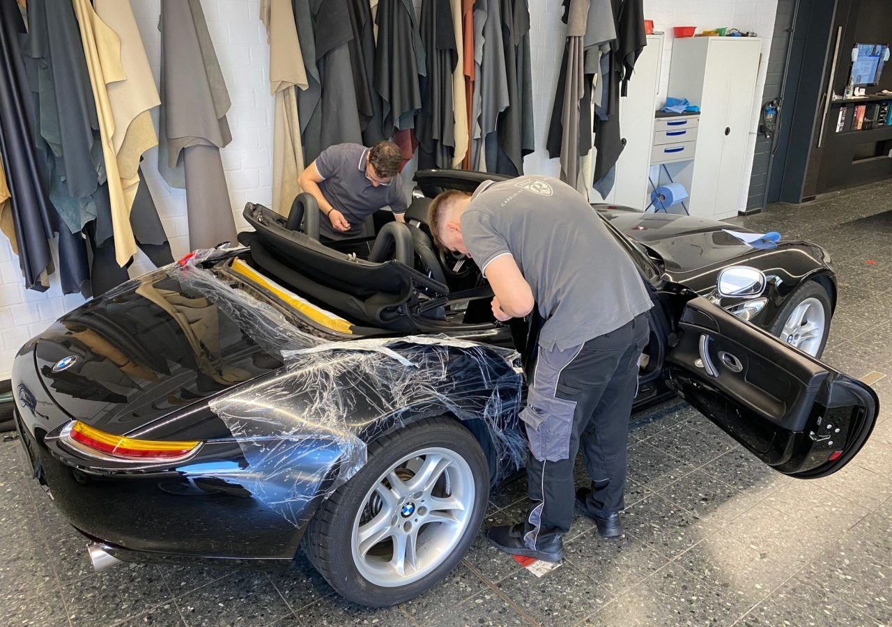 CABRIOVERDECK BMW Z8 | Rose Manufaktur im Ruhrgebiet