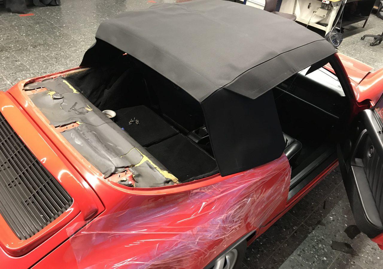 CABRIOVERDECK PORSCHE 911 – 964