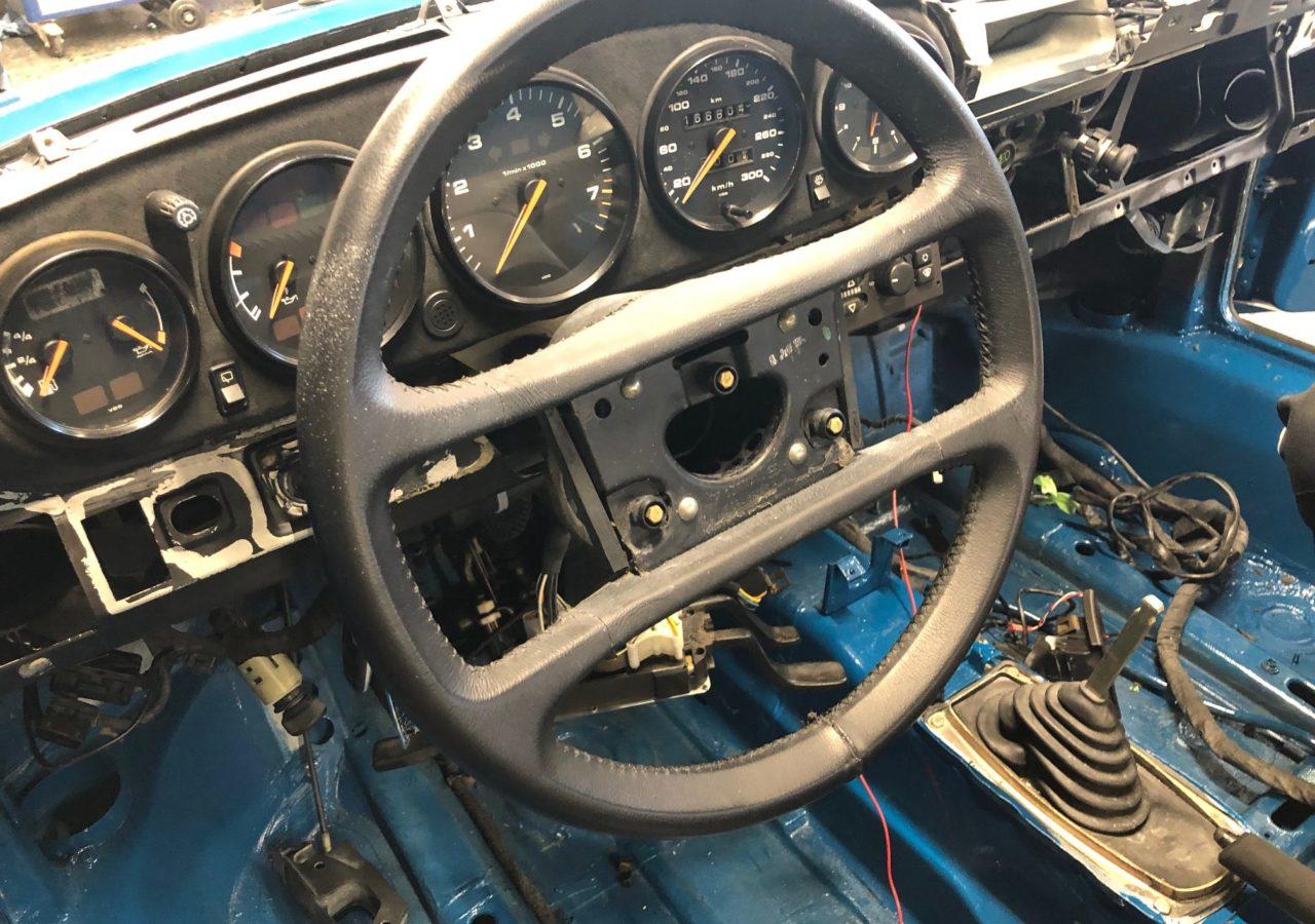 PORSCHE 911 964 Innenausstattung aus Alcantara