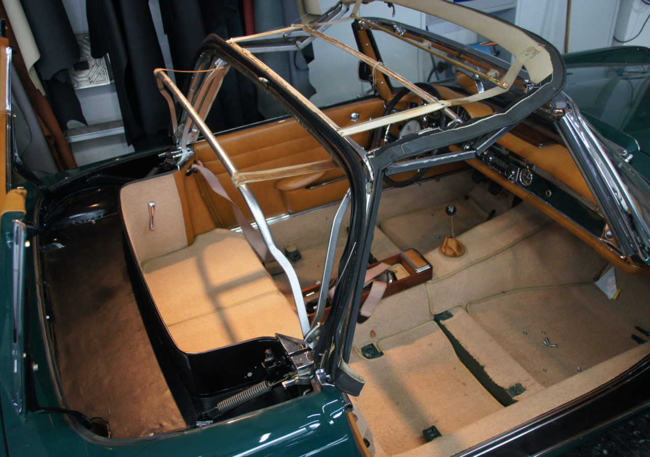 CABRIOVERDECK MERCEDES-BENZ Pagode W113