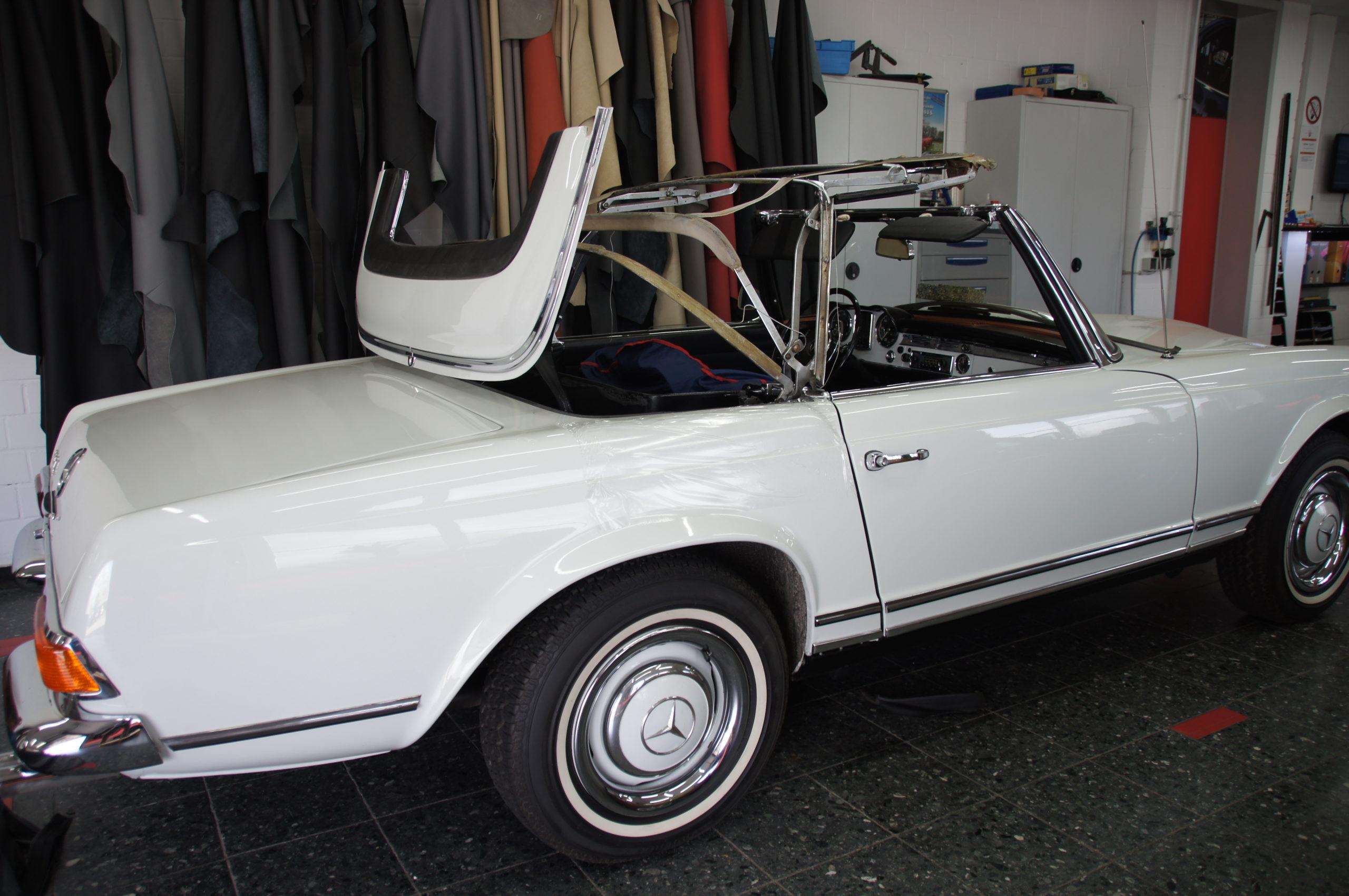 Mercedes-Benz Pagode Cabrioverdeck