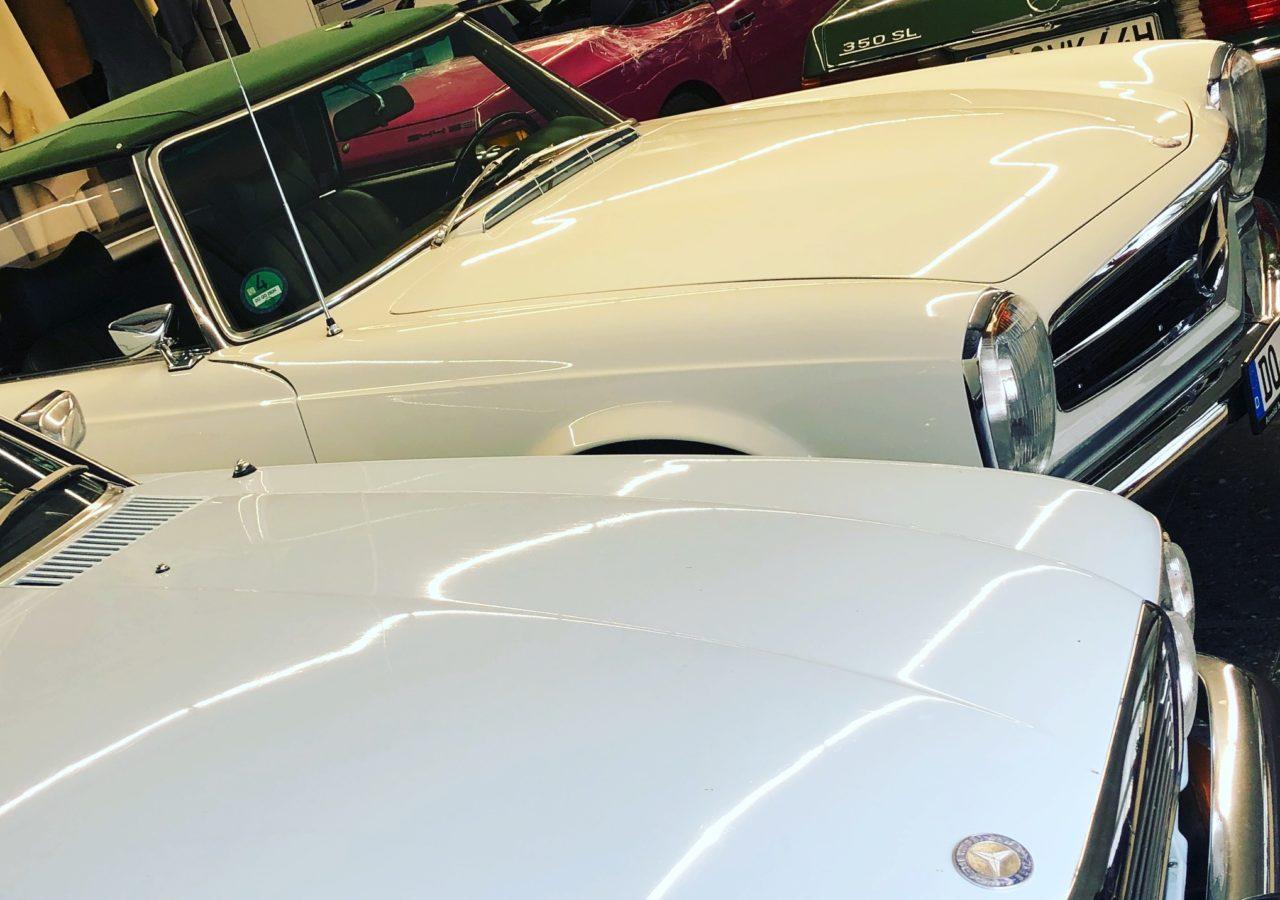 Mercedes-Benz SL R107 Cabrioverdeck