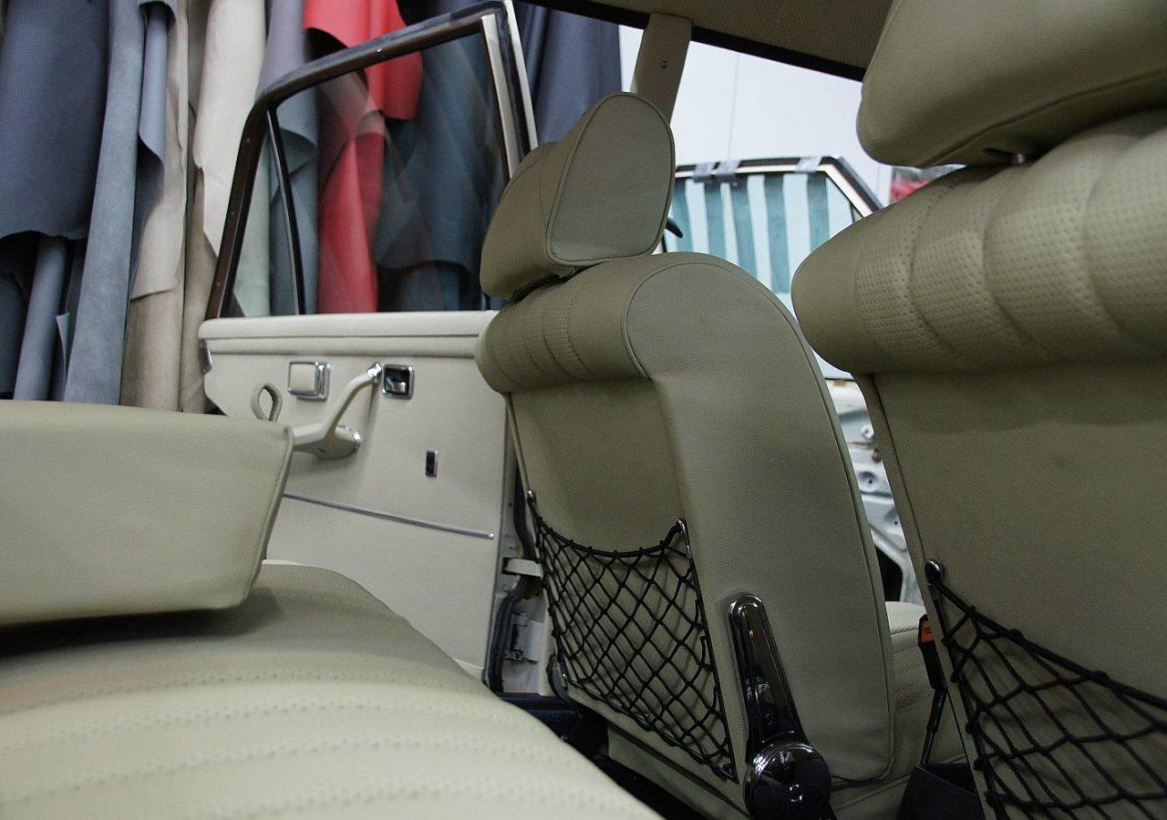 Mercedes-Benz 280 SEL 4.5 W108 Lederausstattung