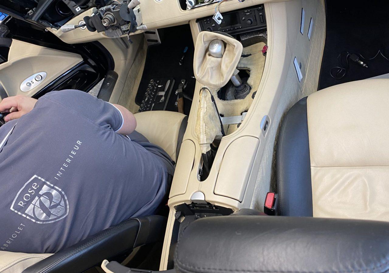 BMW Z8 Lederinnenausstattung