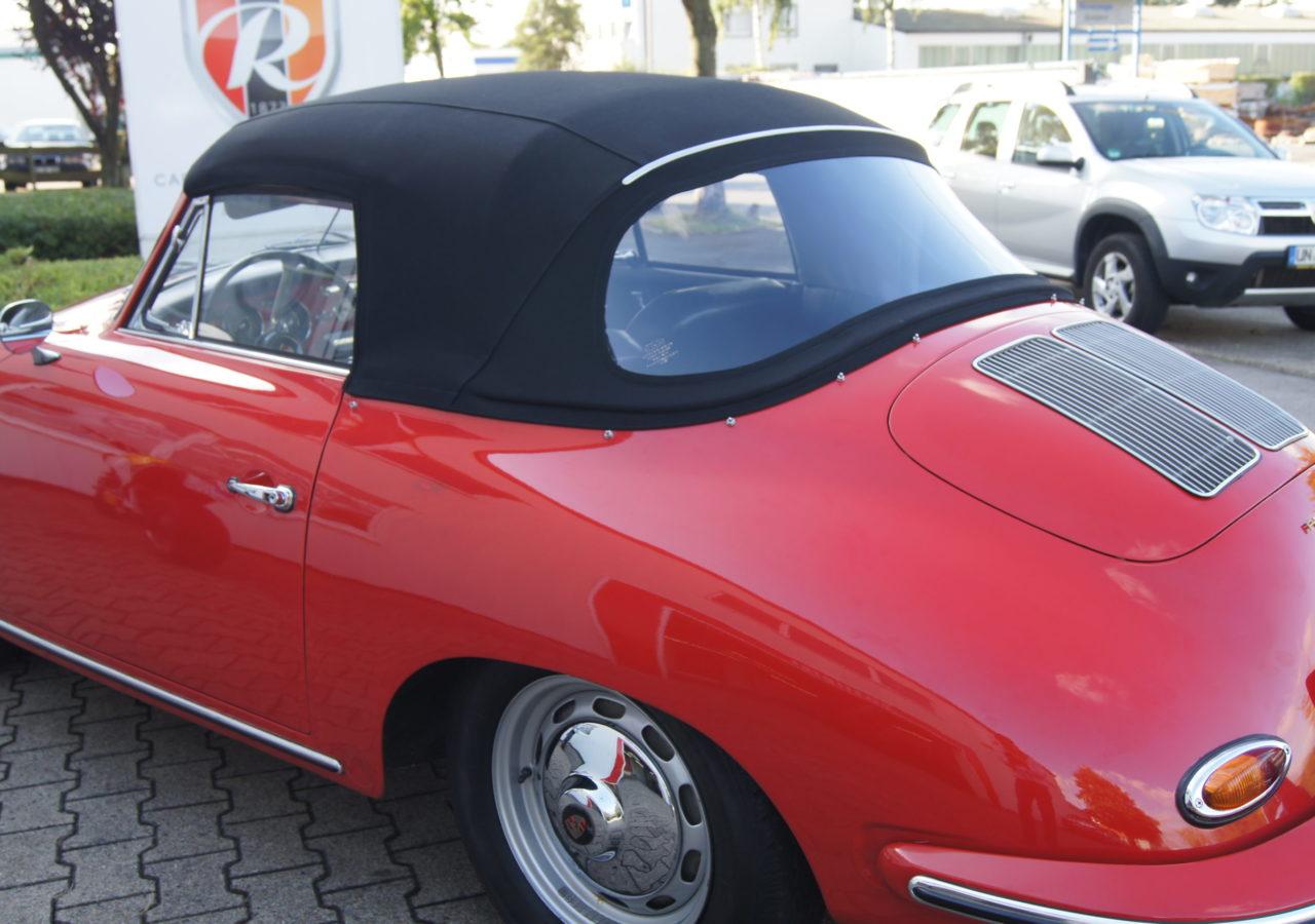 Porsche 356 B Cabrioverdeck