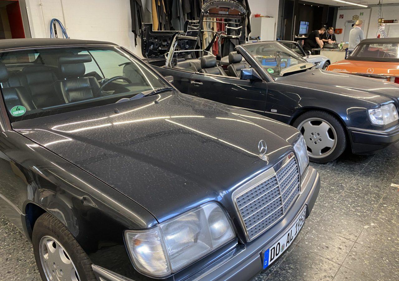 Mercedes-Benz W124 E-Klasse Cabrioverdeck