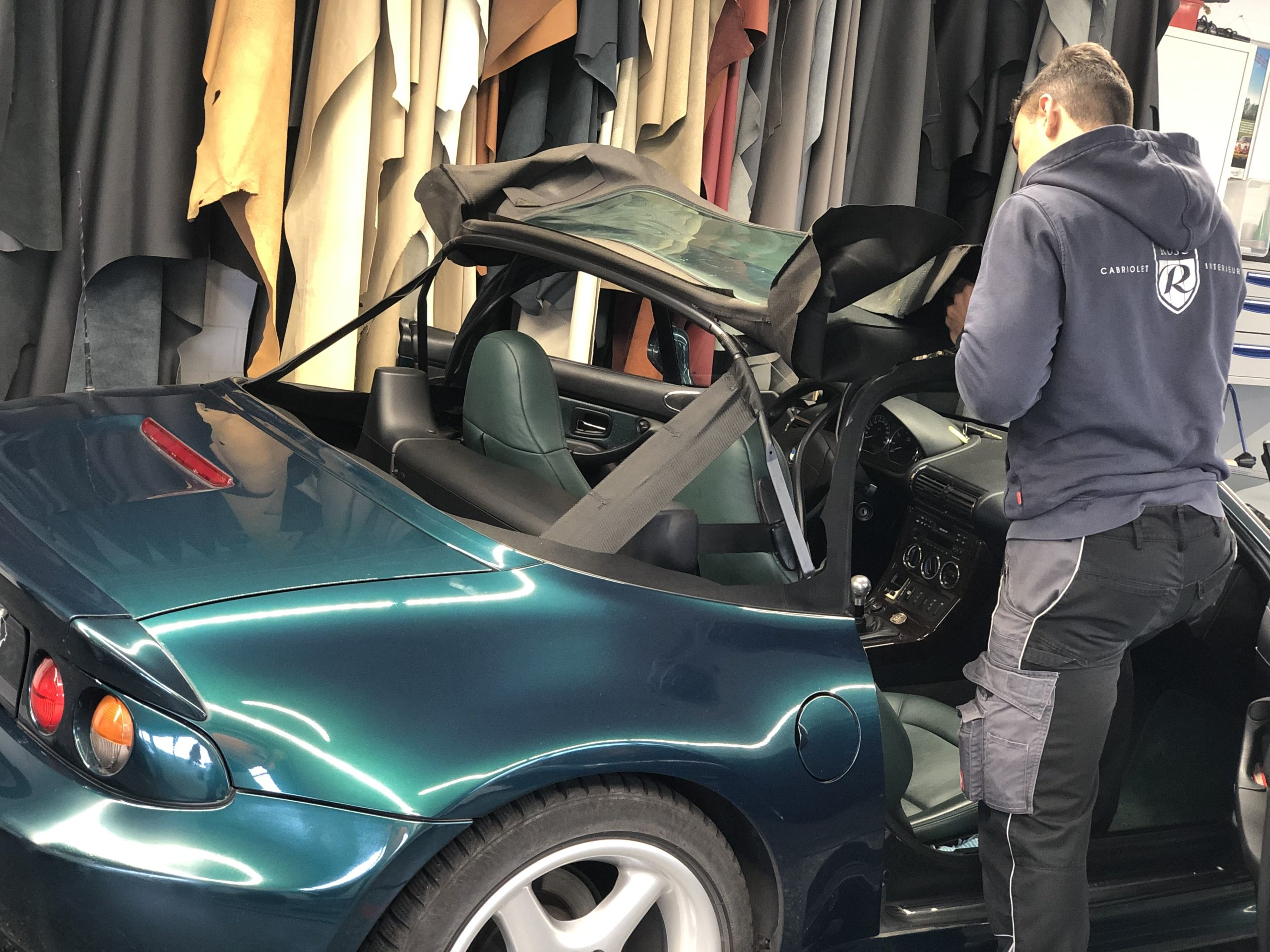 BMW Z3 Cabrioverdeck