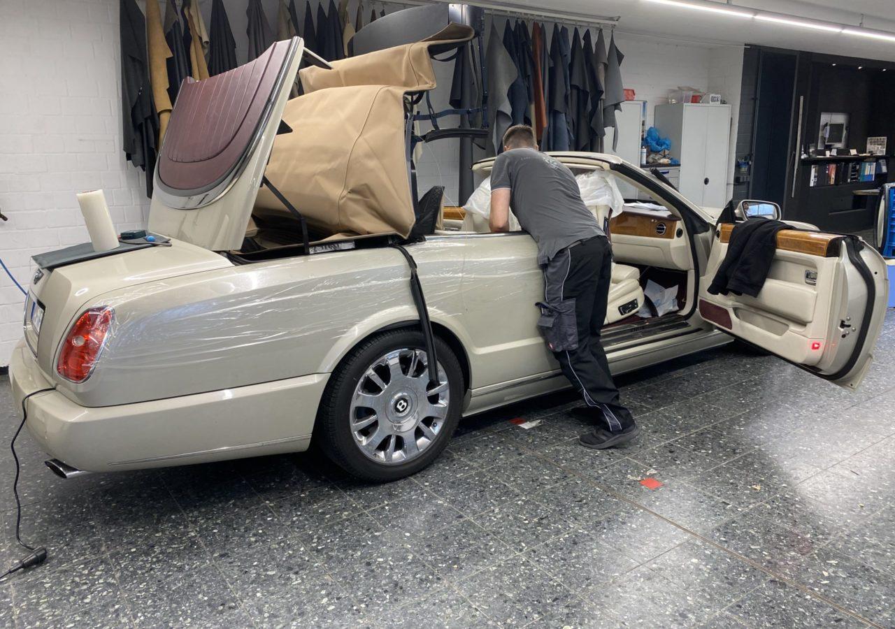 Bentley Azure II Cabrioverdeck